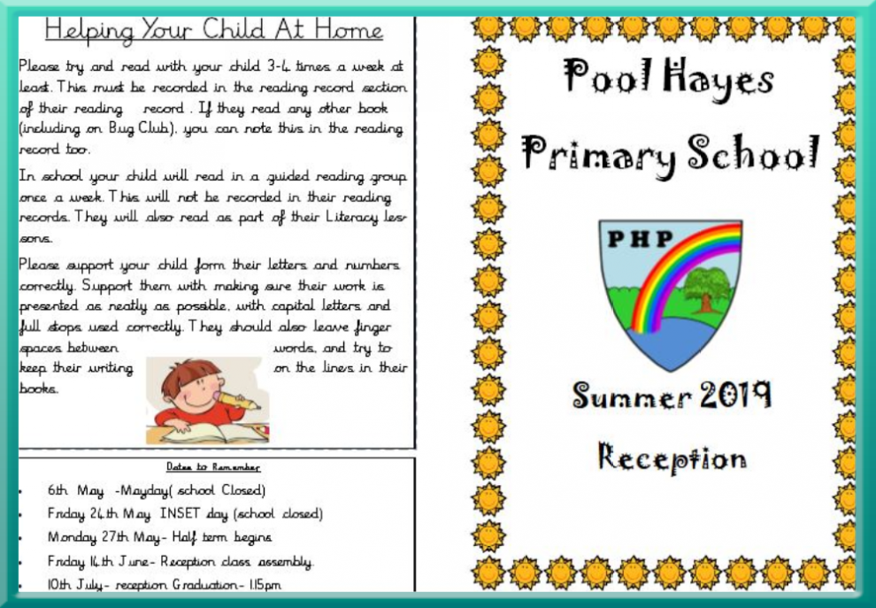 Reception - Pool Hayes Primary School